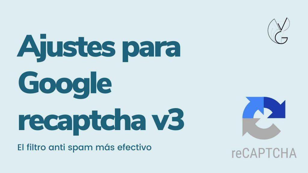 recaptcha v3 contact form 7