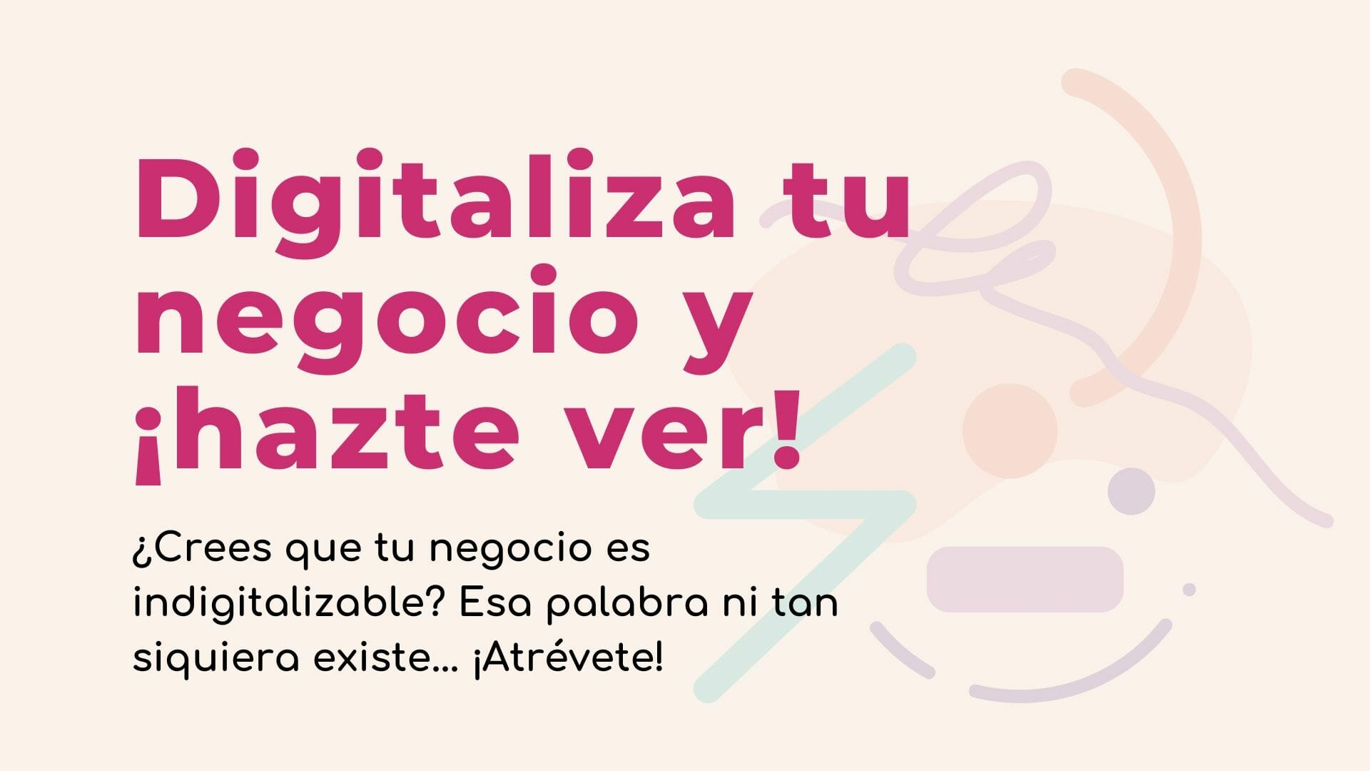 digitalizar negocio murcia